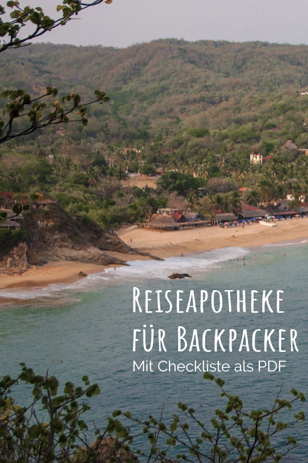 Reiseapotheke für Backpacker