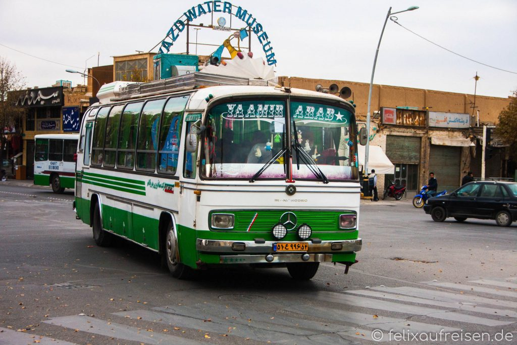 Alter Bus in Yazd, Iran