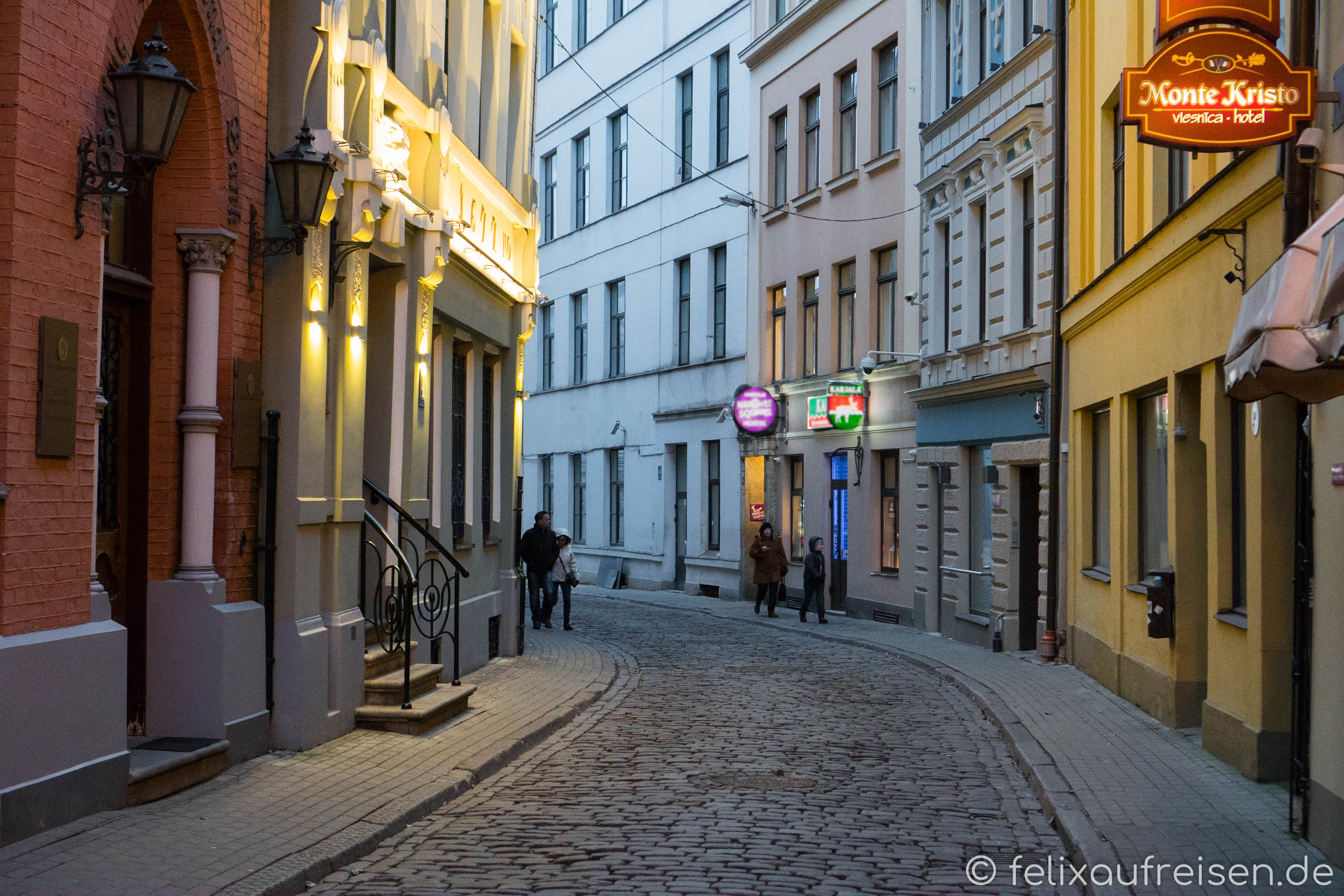 Naughty Squirrel Backpackers in Riga, Lettland