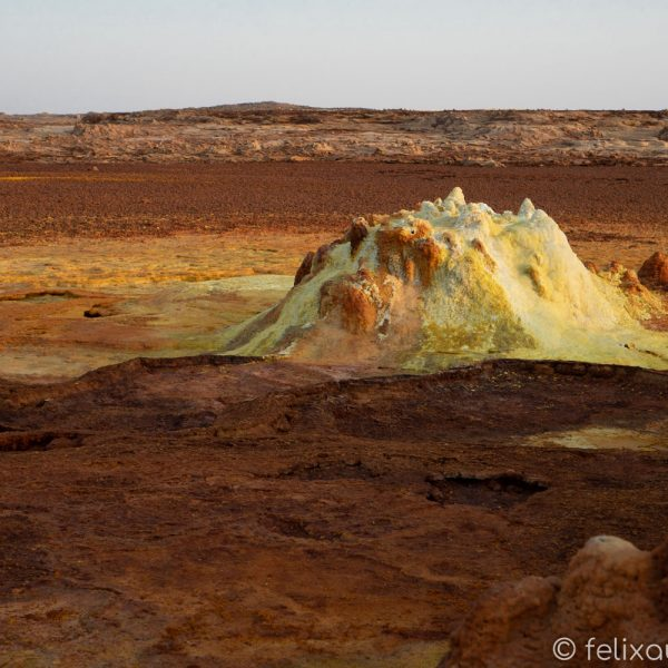Dalol in der Danakil Depression